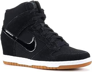 Nike Women's Wmns Dunk Sky Hi Essential, BLACK/BLACK-SAIL-GUM MED BROWN, 5 M US