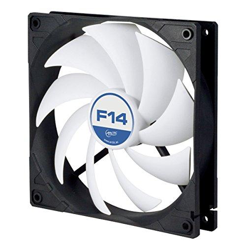 ARCTIC F14 - 140 mm Standard Gehäuselüfte, leiser Lüfter, Case Fan mit Standardgehäuse, Push- oder Pull Konfiguration möglich, 1350 U/min.