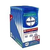 Napisan, 320 Salviette Igienizzanti, Multisuperfici e Biodegradabili, 8 Confezioni da 40 Pezzi, Fresh