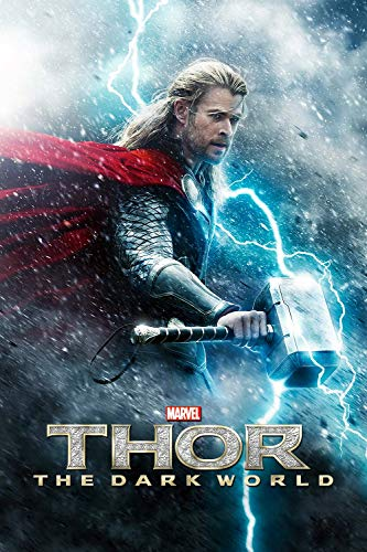 Póster de Eliteprint Best Hollywood Sequels Thor the Dark World en 250 g/m², tamaño A3