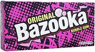 Bazooka Original Bubble Gum 4 Oz
