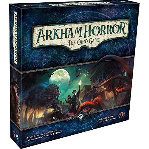 Arkham Horror The Card Game | Horror Game | Mystery Game | Cooperative Card Games for Adults and...