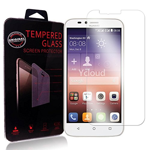 Ycloud Panzerglas Folie Schutzfolie Bildschirmschutzfolie für Huawei Y625 Screen Protector mit Festigkeitgrad 9H, 0,26mm Ultra-Dünn, Abger&ete Kanten