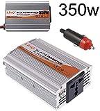 Linq Inversor de Corriente Coche 12V DC a 220V AC 350W USB Convertidor Conversor