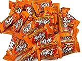 CrazyOutlet KIT KAT Christmas Snack Size Candy Bars, Orange Wrapped Treats Bulk Pack, 2 Lbs