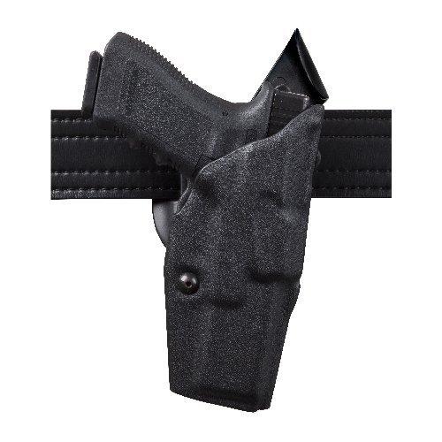 Safariland 6390 ALS - Funda de retención para la mano derecha, con cinturón medio para pistola Glock 17, con M3X. Acabado STX en color negro brillante.