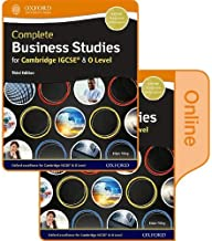 Complete Business Studies for Cambridge IGCSE O Level Stud