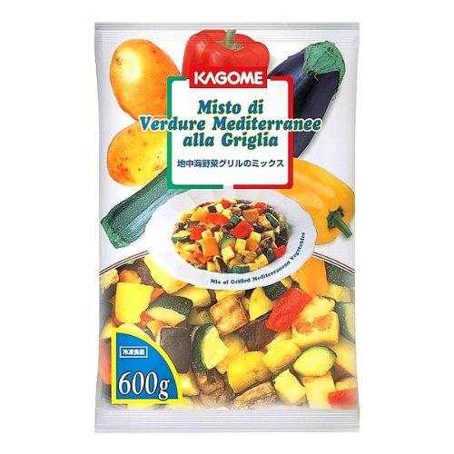 【冷凍】カゴメ 地中海グリル野菜ミックス 600g 業務用