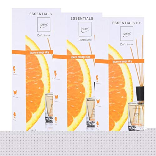 Essentials by Ipuro orange sky 200ml Raumduft Dufträume (3er Pack)