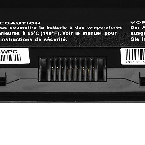 Green Cell PRO Extended Serie J1KND Laptop Akku für Dell Inspiron 13R N3010 / 14R N4010 / 15 M5030 M5040 N5040 / 15R M5010 M501R / Q15R M5110 (Original Samsung SDI Zellen, 9 Zellen, 7800mAh, Schwarz)