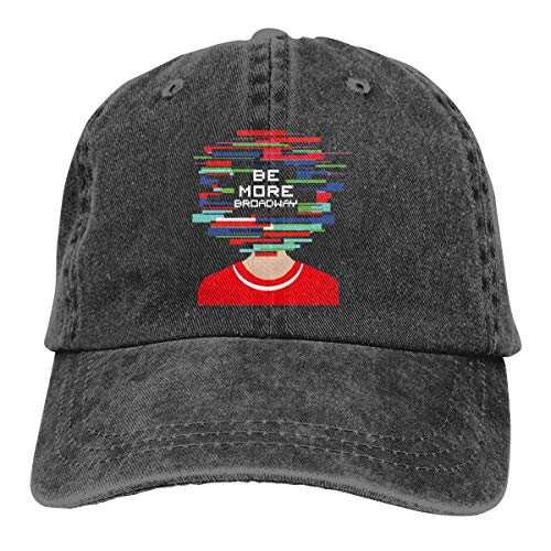 Be More Chill Be More Broadway Baseball Cap Vintage Dad Hat Adjustable Polo Trucker Unisex Style Headwear