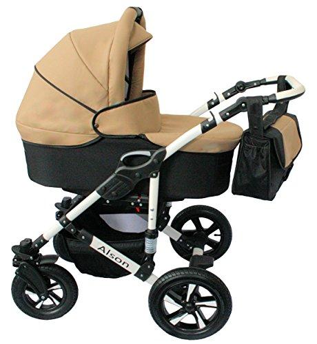 Cochecito bebe 3 piezas X-Trall BBtwin carro trio (beige + negro)