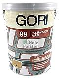5L Gori 99 Schwedenrot 7117 Holzfassaden-Farbe Wetterschutzfarbe
