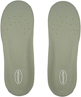 Happystep Plantar Fasciitis Orthotics Memory Foam Insoles Shoe Inserts (US Size Women 5-6 or Big Kids 4-5.5)