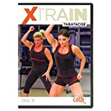 Cathe Friedrich XTrain Series Tabatacise Workout DVD - Includes 5 Short HiiT Tabata Workouts