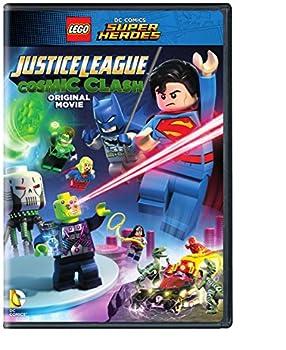 LEGO DC Comics Super Heroes  Justice League  Cosmic Clash  DVD   no Figurine