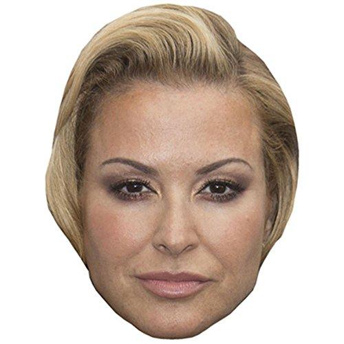 Celebrity Cutouts Anastacia Maske aus Karton