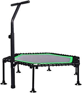 Trampoline Trampoline - 50-inch Adult Household Foldable Convenient Trampoline For Safe And Compact Indoor Trampoline For ...