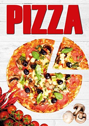 Plakat Pizza DINA1-100{acb547d7a13314a8d9ba44239a98fe2a5b6af00c66dcf070d452b6579a321e5d} wasserfest PVC