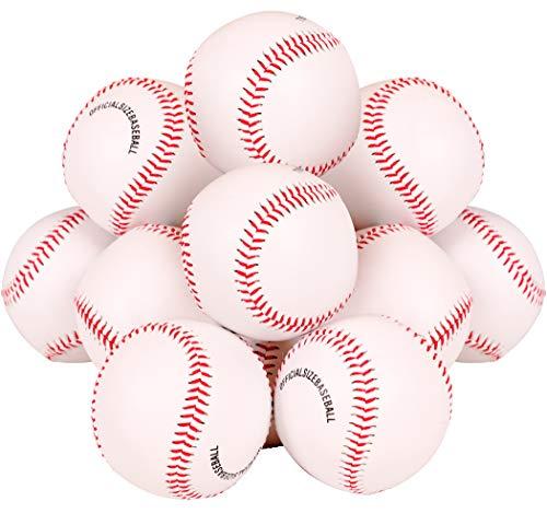 Pelotas de béisbol recreativas (pack de 12)