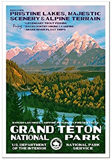 Grand Teton National Park Poster - Original Artwork - 13
