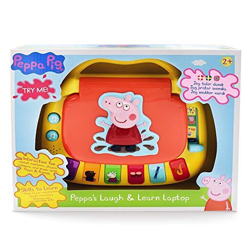 Peppa Pig - Laugh & Learn Laptop (40-00676) (danés, Noruego y Sueco)