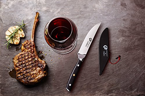 Orient Damascus Steel 5-Inch Steak Knife Set