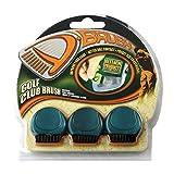 ProActive Sports D-Brush Pocket Golf Club Groove Brush 3 Pack