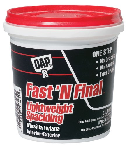DAP Fast And Final Spackling Interior and Exterior