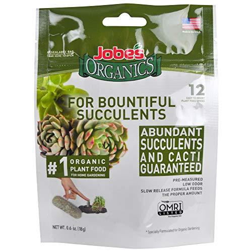 Jobe's 06703 Succulent Fertilizer Spikes
