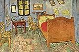 1art1 Vincent Van Gogh - El Dormitorio En Arlés, 1889 Fotomural Autoadhesivo (180 x 120cm)