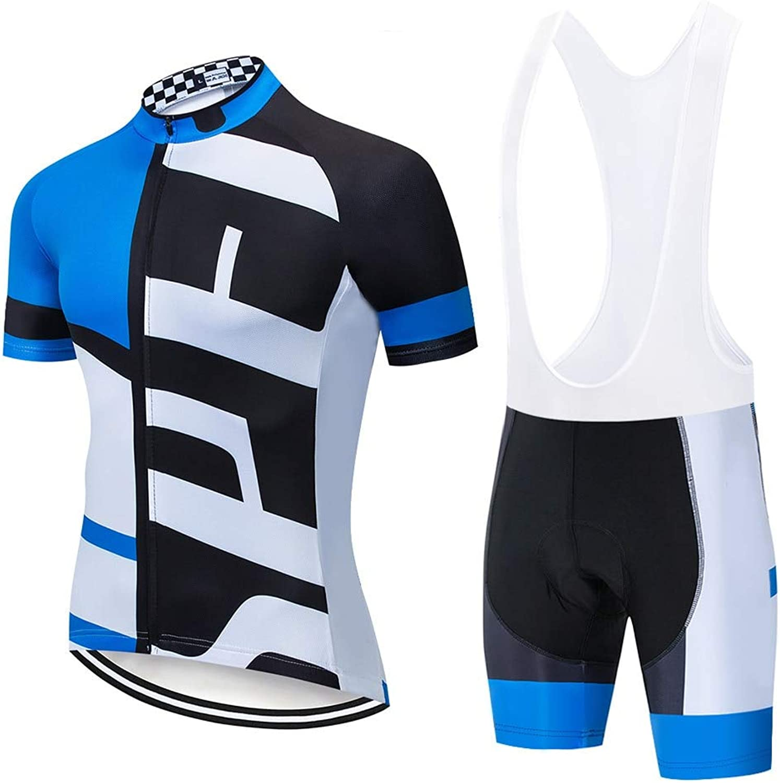Mu Ysmy Professional Cycling Uniform Mans Blau Cycling Jerseysbike Racing Bike Clothes Cycling Wear M blau