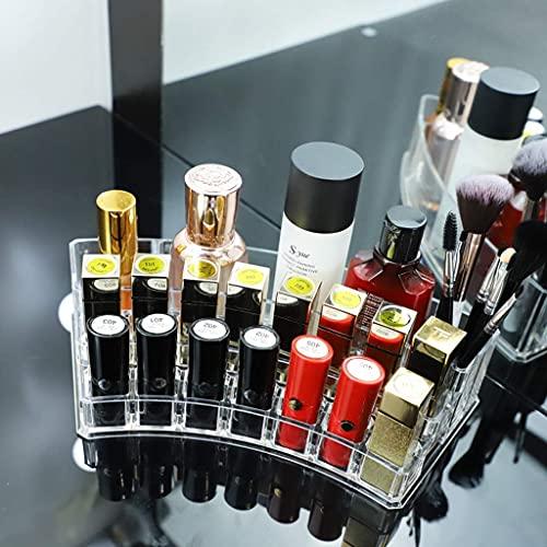 ADSE Joyero Acrílico Transparente Soporte de exhibición cosmético Soporte Lápices labiales Organizador de Herramientas Almacenamiento