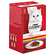 Gourmet Mon Petit Indulgent Selection with Meat 6 x 50g