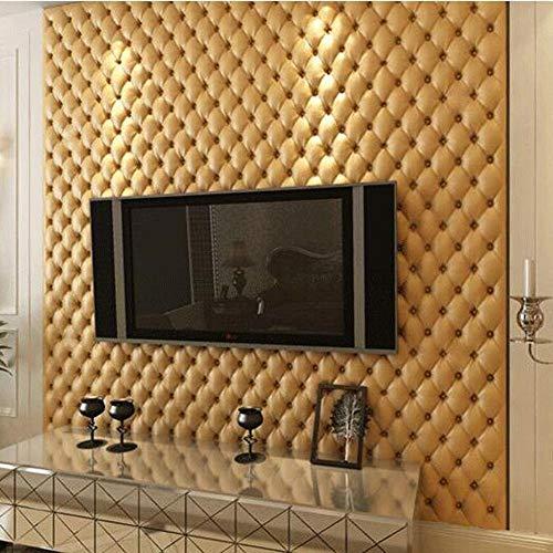 Papel Pintado no Tejido Papel Tapiz Suave, Paneles de Pared 3D para Paredes de TV/sofá Fondo Wall Deco