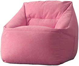 H-ei Bean Bag Lazy Sofa Single Fabric Sofa Computer Chair Bedroom Living Room Balcony Comfortable Chair Removable and Wash...