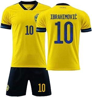 PAOFU-Sverige fotbollslag 10# Zlatan Ibrahimovi fans fotbollströja för män pojke