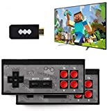 LEOP Retro Game Console, TV HDMI Interface Card Game Console, Wireless Controller with U Disk Size Game Console, 32G Memory cardbuilt-in 818 Classic Games