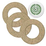Freestyle <span class='highlight'><span class='highlight'>Libre</span></span> 1 & 2 Patches Made of Natural Hemp Fibres Waterproof, Breathable and Skin-Friendly incl. Sticker with Hole for Sensor in Set (3 1) Hemp Sun