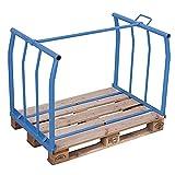 Cordes azul. - Accesorio de paletas, H 800 mm, de carga y de 500 kg, para 1200 x 1000 mm