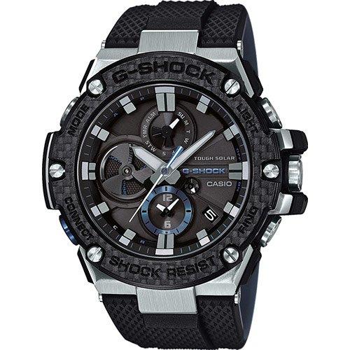 Reloj G-SCHOCK GST-B100XA-1AER - Tough Solar, Dual dial world time, Funciones de vinculación con teléfonos inteligentes