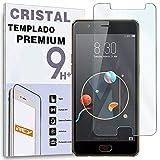 REY Protector de Pantalla para ZTE Nubia M2 Lite, Cristal Vidrio Templado Premium