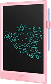 LCD Writing Tablet, 10 Inch Screen Electronic Writing Board,Handwriting Paper Doodle Pad with Stylus Tablets for Kids and Adults at Home, School and Work Office (Pink)