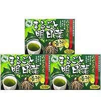 まるごと明日葉青汁 3個セット (3g×30包×3)