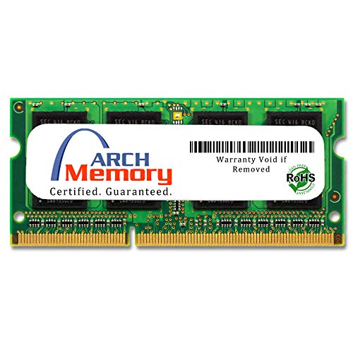 Arch Memory 8 GB 204-Pin DDR3 So-dimm RAM for Lenovo ThinkPad W530 2438-52U