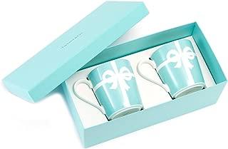 ティファニー TIFFANY&Co マグカップ ブルー リボン ボックス マグカップ ボーンチャイナ 225ml