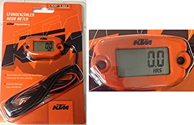 New Ktm Oem Orange Hour Meter Sx Xc Exc Sxs Sxf Xcf Xcfw 78112920000
