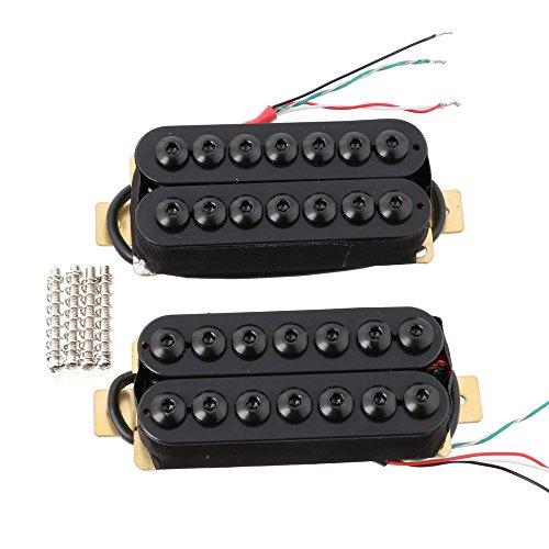 lyws cerámica imán 7cuerdas Guitarra Pickup Set pastilla Humbucker para guitarra eléctrica...