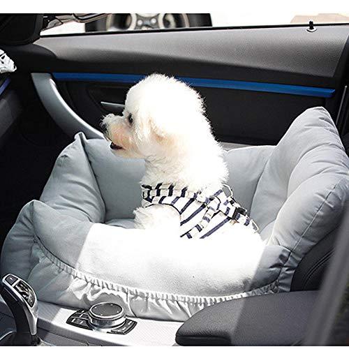 Cama para Perros de Felpa Suave y cálida Cama para Perros Cama para Dormir mullida sofá para Mascotas Perros pequeños y medianos de Varios tamaños -Gris 50 * 45 * 36 cm