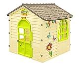 Paradiso Toys Spielhaus für Kinder, Kinderspielhaus für Indoor und Outdoor, Gartenhaus für Kinder